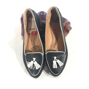 SOFFT Black and White Slip On Womens Shoe